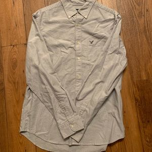 Men's large button up American eagle